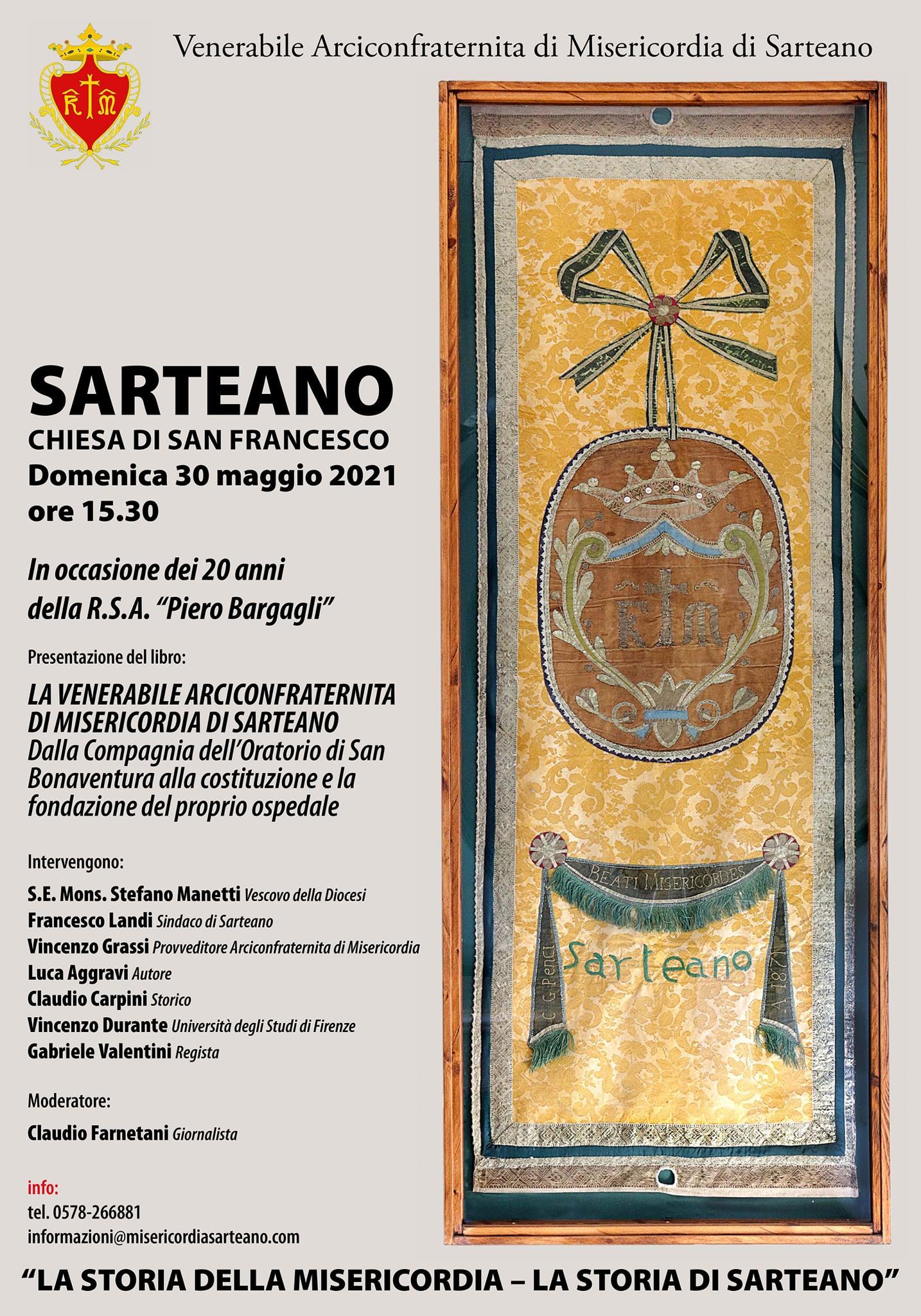Presentazione libro Misericordia Sarteano